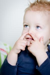 Babygebaren in de kinderopvang, het gebaar voor