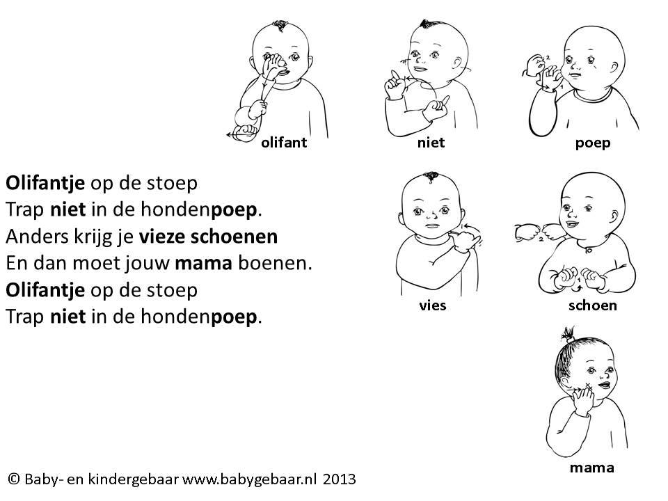 gebarentaal zinnen