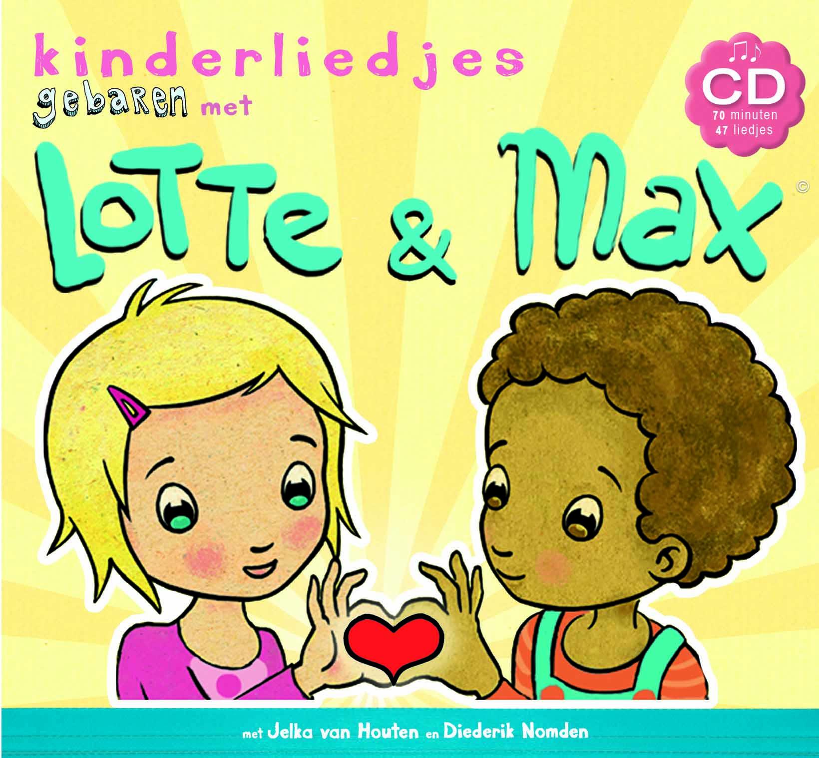 Lotte en Max kinderliedjescd