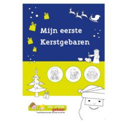 Kerstmisgebarenboek