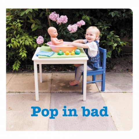 gebarenboekje 'pop in bad'