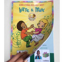 Lotte en Max muziekboek